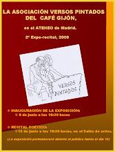 RECITAL POÉTICO DE LA ASOCIACIÓN DE VERSOS PINTADOS DEL CAFÉ GIJÓN EN EL ATENEO DE MADRID