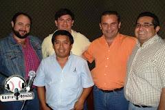 "En ""Radio Béisbol"" 92.9 FM 2010"