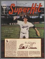 """Columna """"Super Hit"""" 24/08/1985"""
