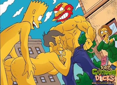 Hoe, Simpison fazendo sexo Leah