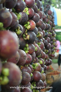 mangosteen fruit, mangosteen