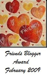 Friends Blogger Award