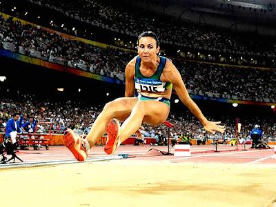 maurren, maggi, maurren maggi, salto, distância, ouro, medalha, Brasil, olimpíadas, pequim