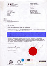 Gibraltar Tax Haven - G J H Carroll - Carroll Foundation Trust - National Interests Case
