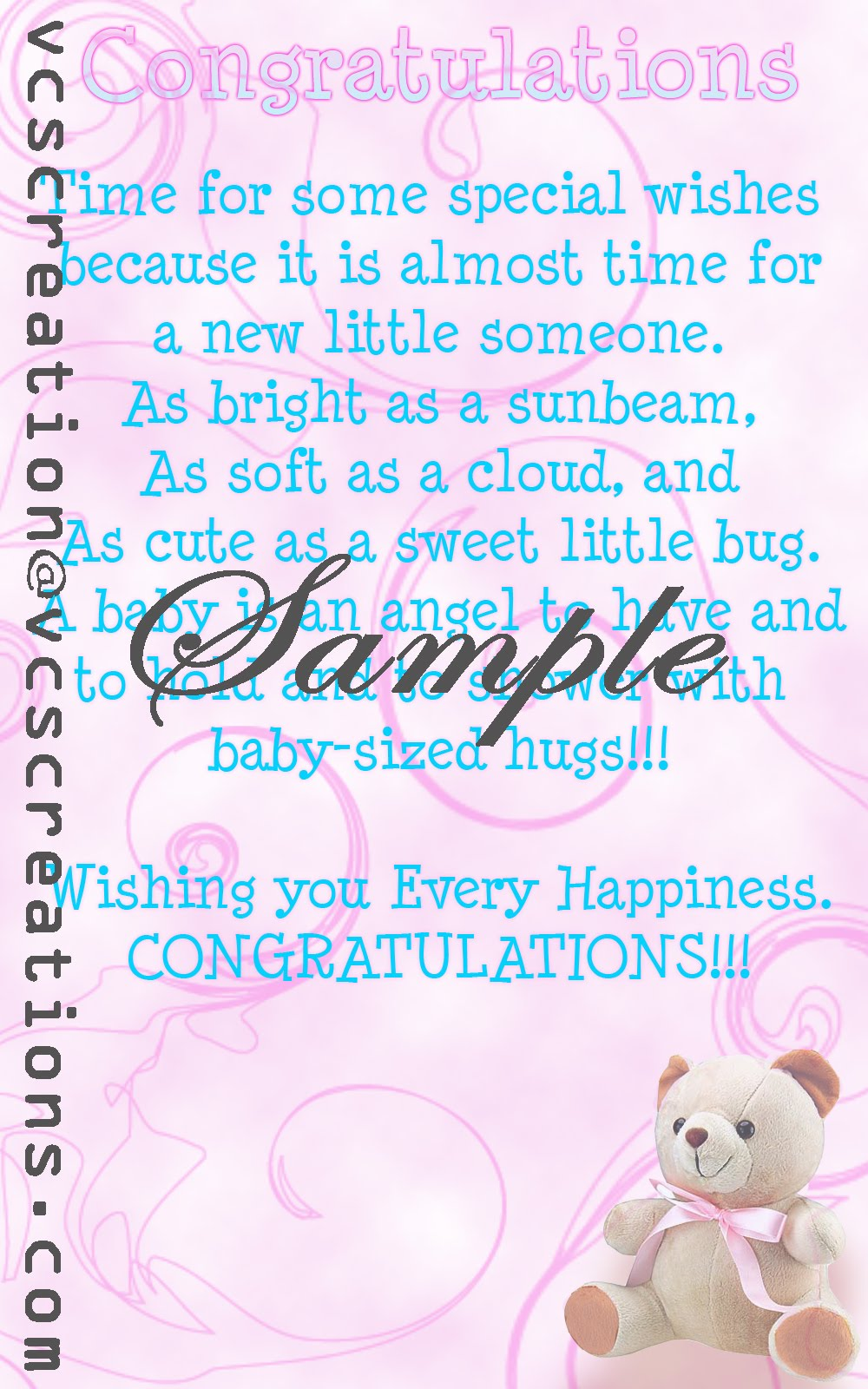 baby shower baby greetings vcs creations baby shower greetings