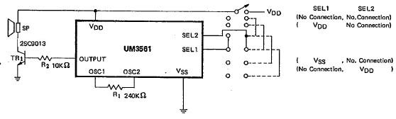 Stupendous Um3561 Electronic Siren Circuit Diagram Electronik Computer Wiring Digital Resources Antuskbiperorg