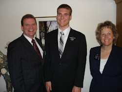Chris with President and Sister Fry