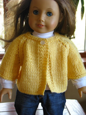 yellow doll knitted sweater
