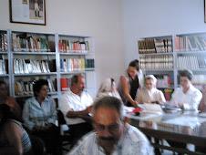 Taller con maestros de Onzaga, Biblioteca.