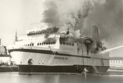 FERRIES DISASTERS: Ferry Scandinavian Star, 158 dead