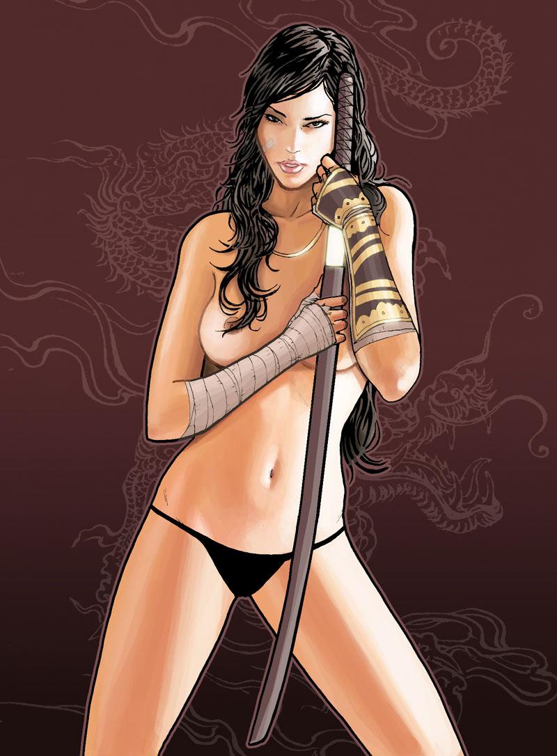 samurai girl porn video