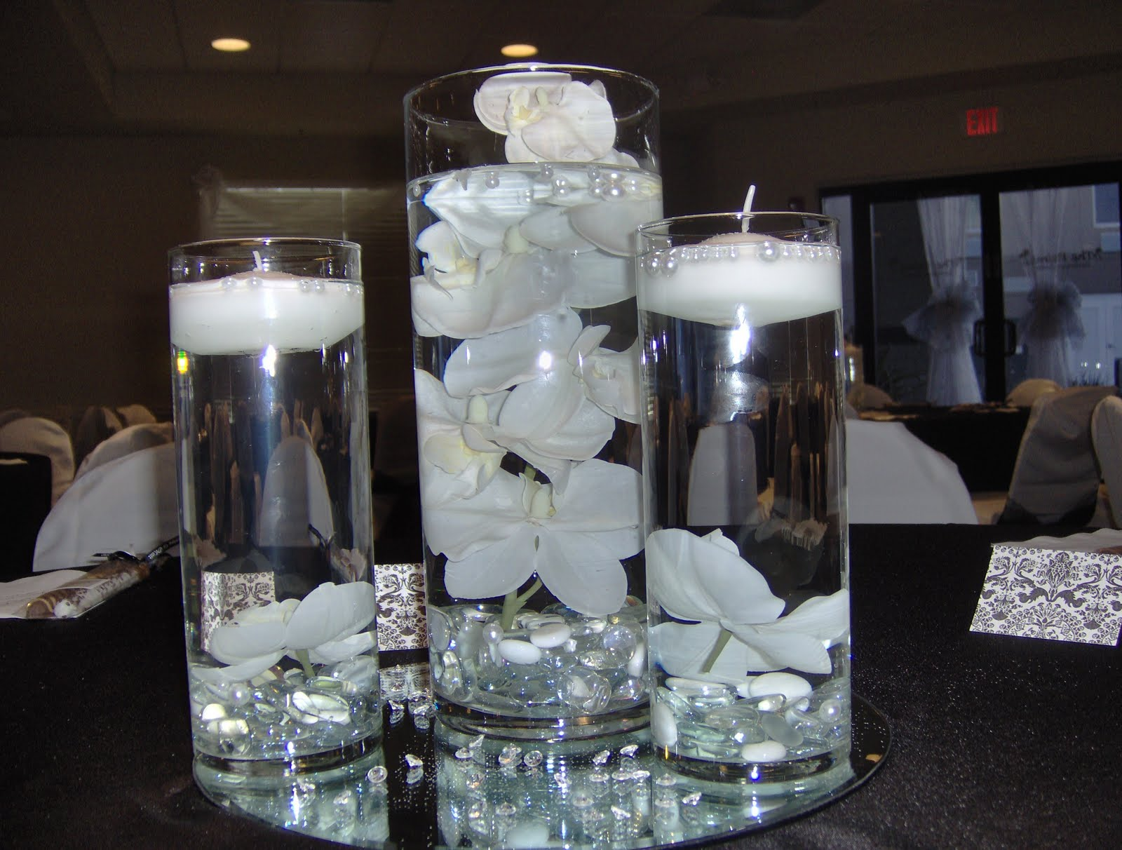 Submerged flowers wedding