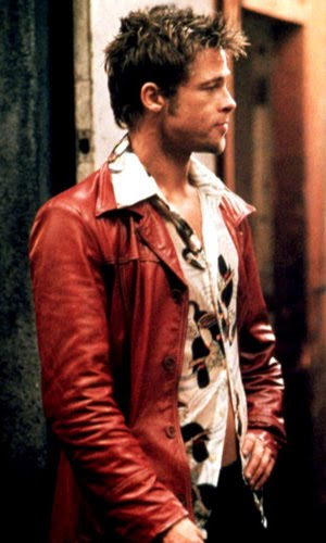brad pitt hair fight club. quot;the things you own,