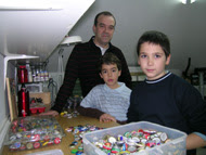 Intercambio con Guillermo y Xabier en Mungia