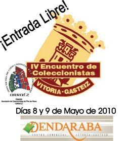 Encuentro de coleccionismo en Vitoria-Gasteiz el 8-9 de mayo