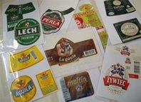 Mi colección de etiquetas.