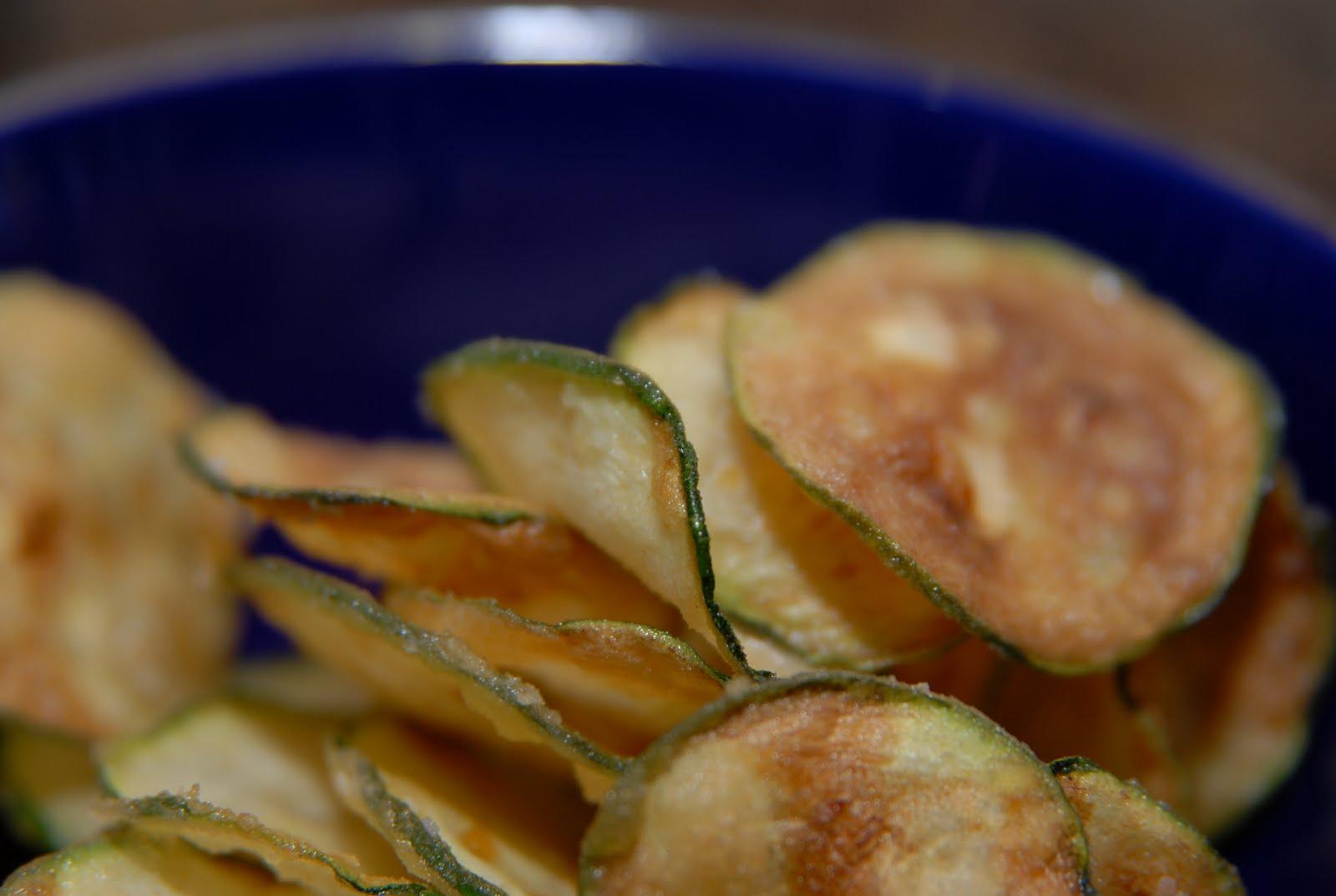 Foodie-bia: Zucchini Chips