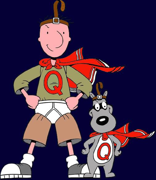 Titel animatiereeks gezocht! Quailman And Patty Mayonnaise Costume