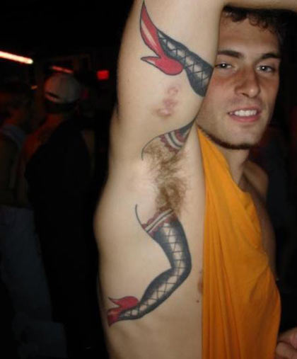 few awesome/shit/funny tattoos