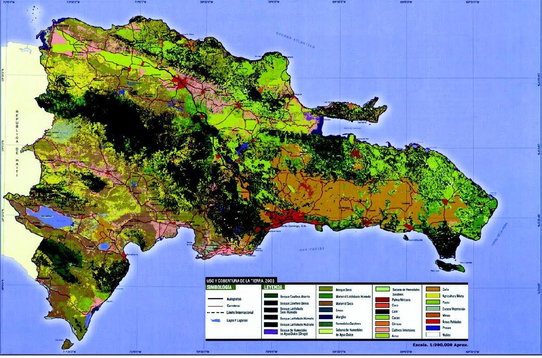 Gu a inmobiliaria mapa de uso y cobertura de suelos for Guia inmobiliaria