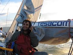 "Manolo ""satelitando"" con Tesacom"