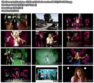 girlfriend avril lavigne music video. Song name: girlfriend