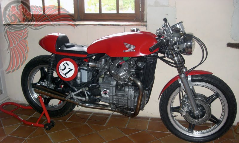 red cx500 cafe style