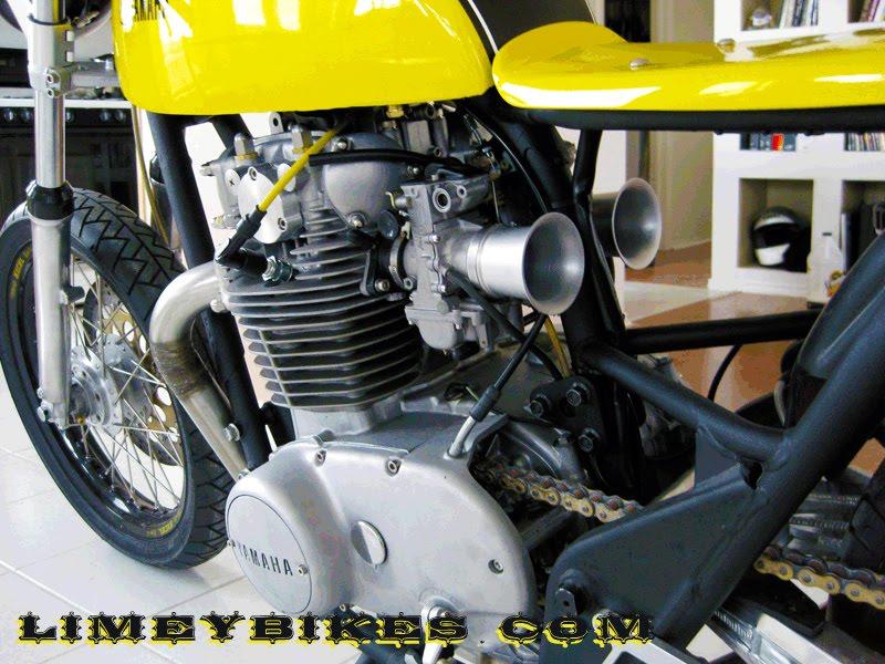 yamaha xs650 cafe racer left | limeybikes