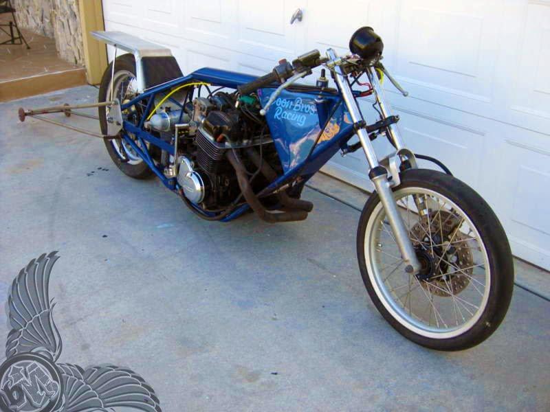 1973 honda cb750 drag bike - bikerMetric