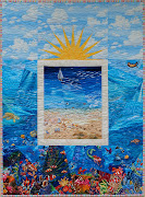 The Beach Quilt Pattern will be available in both hardcopy and PDF format. (beach quilt pattern)
