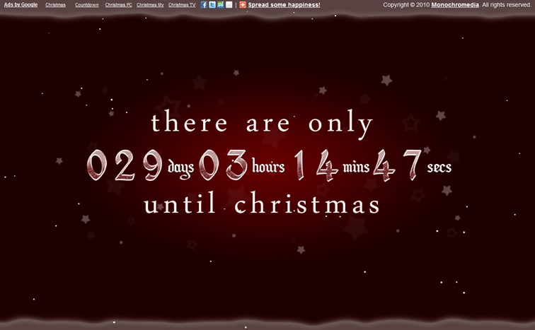 Christmas Countdown Clock Screensaver Mac Pictures
