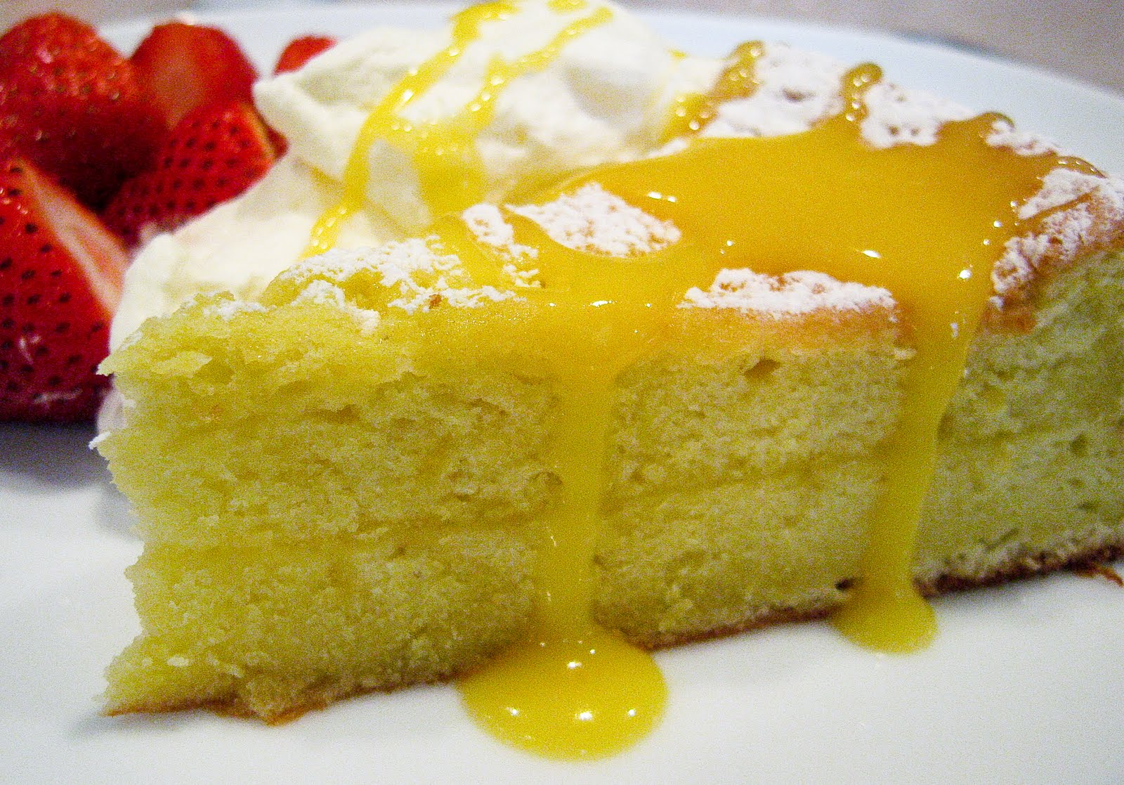 Rustic) Provençal Lemon Cake With Lemon Curd & Whipped Cream - The ...