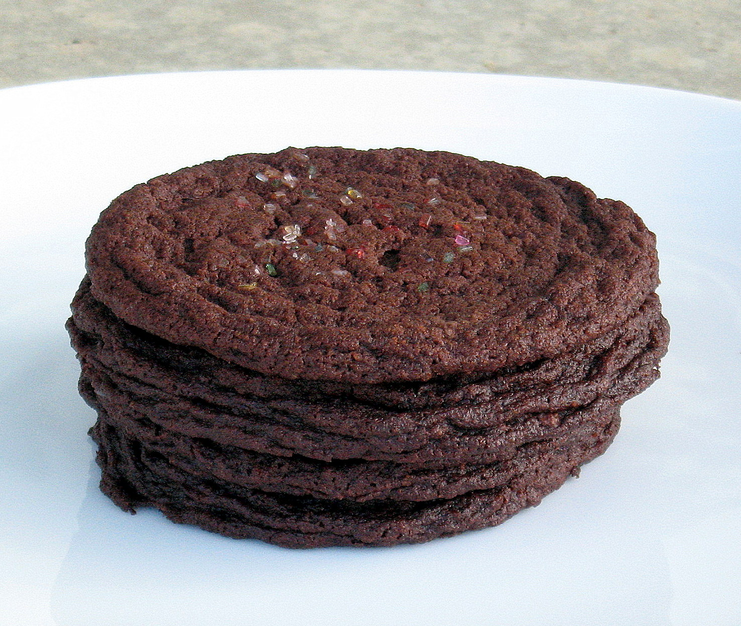 Chocolate Sugar Cookies Made With Valrhona Cocoa - The Spiced Life