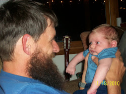 Daddy and my newest little man