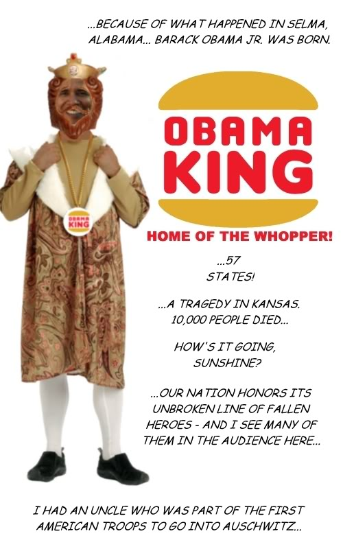 Obama king