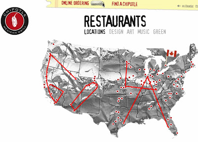 Chipotle Locations Map My blog