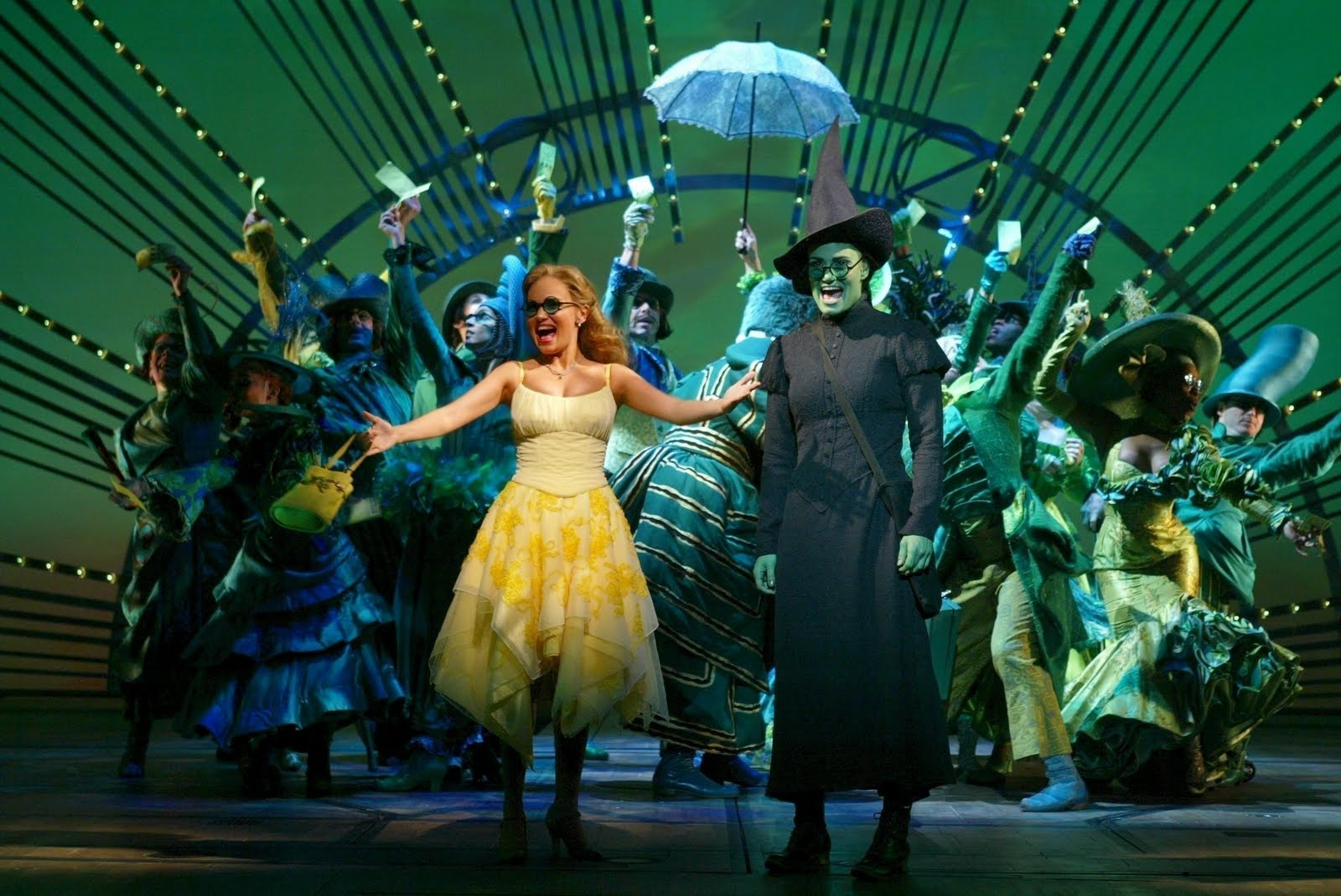 wicked theatre cast