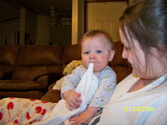 Eating My Burp Cloth