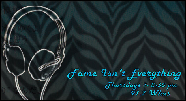 Fame Isn't Everything