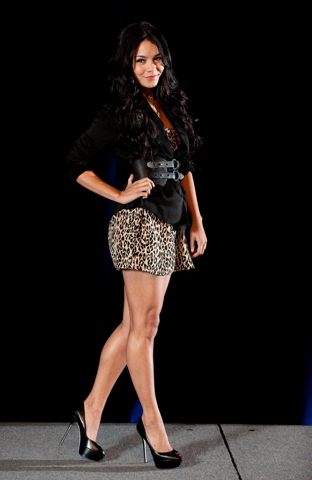 Vanessa Hudgens In Las Vegas Hot Heels Styles