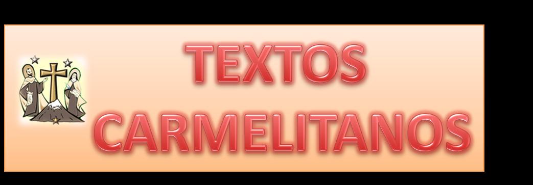 OCDS-TEXTOS CARMELITANOS