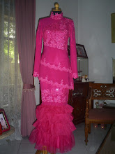 Pink Brocade Aplication