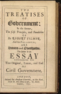 Contrast Thomas Hobbes's Social Contract view of government with the political philosophy of John Locke.?