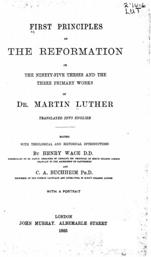 martin luthers 95 theses timeline Luther was not the first or the only christian to come to these conclusions, but he arrived in a time of rising nationalism and, thanks to the recently-invented printing press, unprecedented written communication with his 95 theses against the abuses of indulgences, martin luther unwittingly sparked.