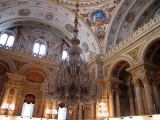 Palatul Dolmabahce Istanbul resedinta ultimilor sultani Interior