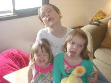 being silly with the girls
