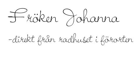 Fröken Johannas hörna