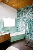 Simply home designs home interior design decor for Brown and turquoise bathroom ideas