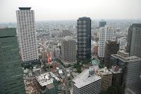 Tokyo View from Hilton Shinjuku - Day