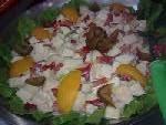 Salada de frutas em calda